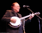 Earl Scruggs at Count Basie 1992 (photo by Jeff Bush)