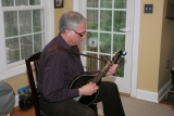 Russ Playing Mandolin